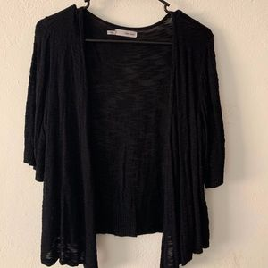 Black Drape Cardigan